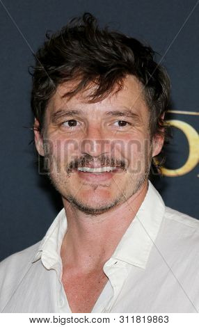 Pedro Pascal at the World premiere of 'The Lion King' held at the Dolby Theatre in Hollywood, USA on July 9, 2019.