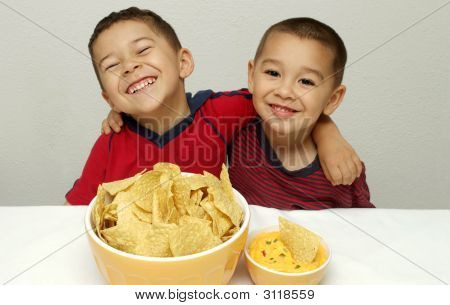 Children And Chips