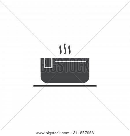 Hot Hot Tub Tub Vector Icon Isolated On White Background