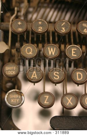 My Old Typewriter