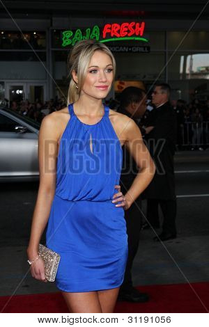 LOS ANGELES - MAR 19:  Katrina Bowden arrives at the