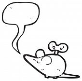 wind up toy mouse cartoon poster