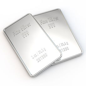 2 Mini Silver Bars - 1 Ounce