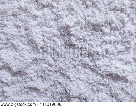 The Texture Of Salt At The Site Of The Extraction Of Edible Sea Salt. Salt Background. The Salt Room