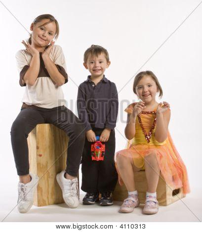 Three Kids In A Row