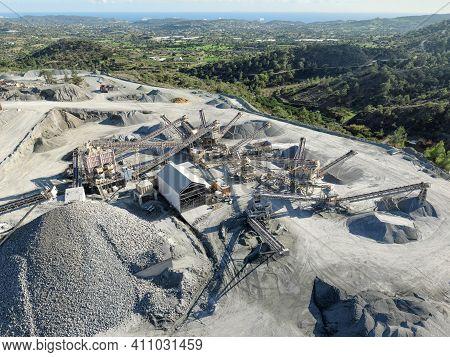 Stone Crushing And Screening Plant At Parekklisia, Cyprus