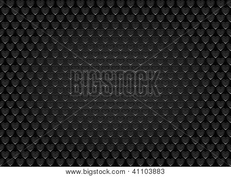 Speaker grill texture in the form of heart.vector