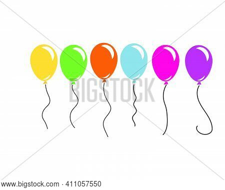 Ballon Icon Vector Illustration Design