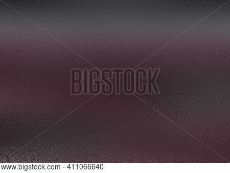 Frosty Background. Frosted Colored Glass. Glass Corrugated Texture. Frosty Purple Background With Bl