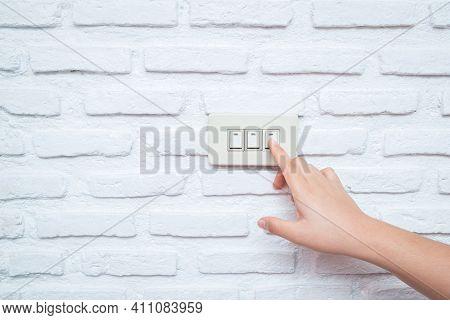 Close Up Hand Turning