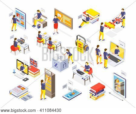 Foreign Language Online Classes Electronic Library Dictionaries Access Personal Tutor School Lessons