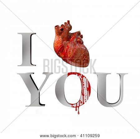 anatomical I love you (3D concept)