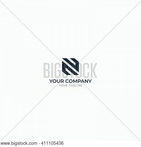 Monogram Logo N Like Z Logo Design