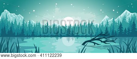 Landscape Outdoor Wild Nature Lake Or Wanderlust