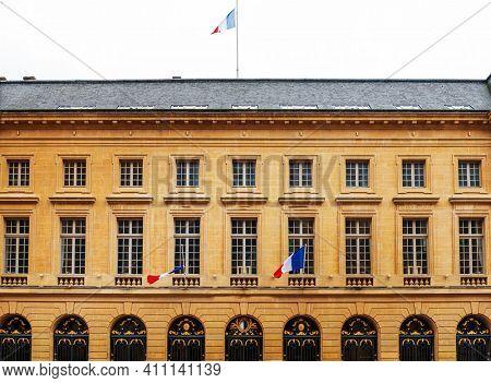 Flag of France in Metz, France