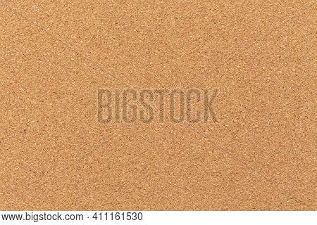 Closeup Empty Texture Blank Cork Board Background