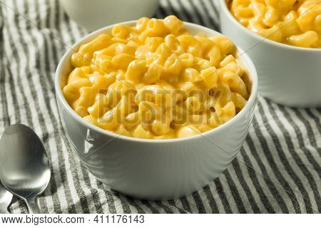 Homemade Creamy Macaroni And Cheese Pasta
