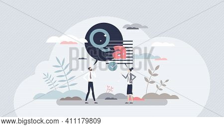 Questions And Answers Or Ask Clarify Unclear Information Tiny Person Concept