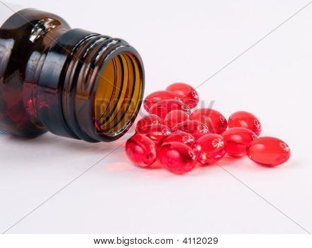 Pills From A Bottle
