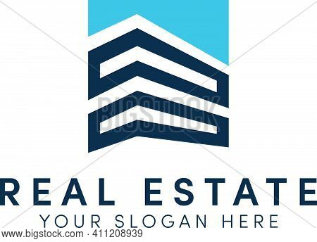 Real Estate Logo Building Simple With Modern Logo