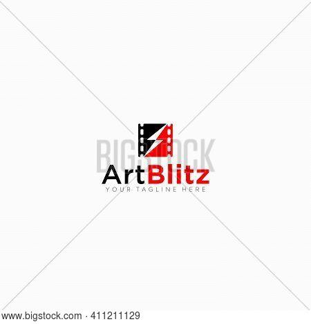 Arts Blitz Studio And Electrical Studio Modern Logo Designs