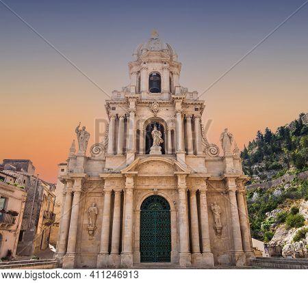 San Bartolomeo Church, Scicli, Sicily, Italy
