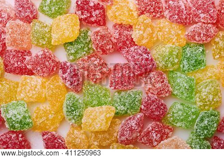 Red And Yellow Candy Background