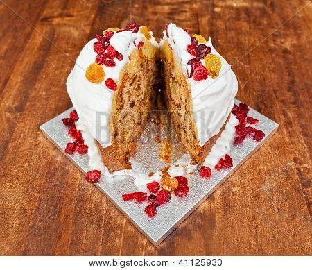 Christmas Cake Splitted