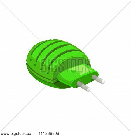 Mosquito Fumigator Icon, Insect Repellent Fumigant Or Pest Control And Flies Killer Insecticide Reme