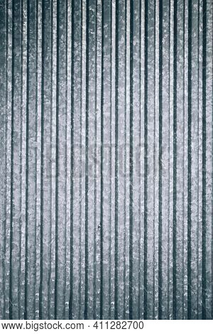 Metallic Background. Silver Steel Plate Texture For Iron Sheet Material Background. Metal Wall Patte