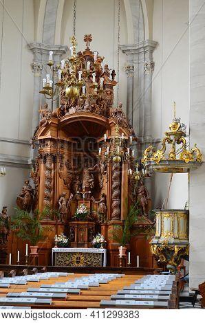 Altstadt-nord, Schwalbengasse, Sankt Maria In Der Kupfergasse, Barocke Kirche Der Schwarzen Mutter G