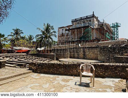 Stonetown (tanzania, Zanzibar Archipelago). Streets And Harbour In Old Stone Town Of Zanzibar City,