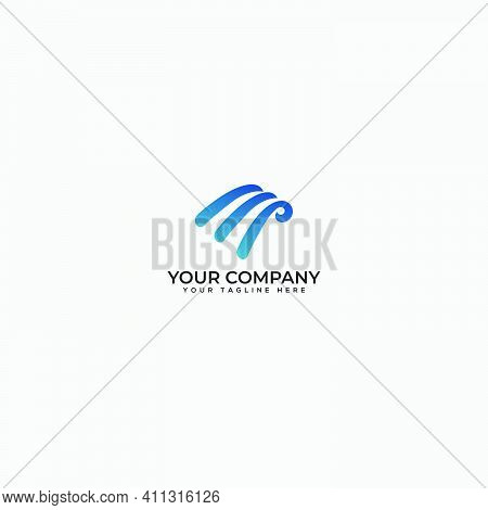 Abstract E Logo, Letter E Logo, Abstract Fast Letter E Logo