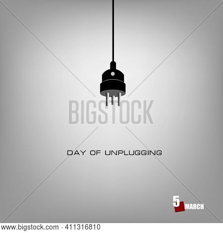 The Calendar Event Is Celebrated In March - Day Of Unplugging