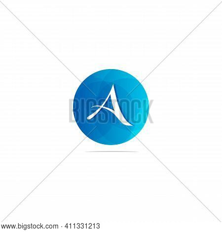 Abstract Letter Logotype A. Suitable For Trademarks, Company Logos, And Others. Vector Illustration