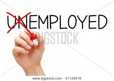 Employed Not Unemployed