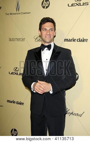 LOS ANGELES - JAN 13:  Justin Bartha arrives at the 2013 Weinstein Post Golden Globe Party at Beverly Hilton Hotel on January 13, 2013 in Beverly Hills, CA..