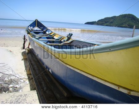 An Artesanal Fishing Boat