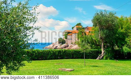 Sveti Stefan National Park And Island, Montenegro