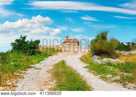 The Church Of St. Sava. In Montenegro