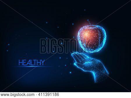 Technology Background. Modern Futuristic Technology Background. Blue Hi Tech Background. Technology