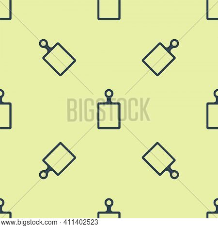 Black Cutting Board Icon Isolated On White Background. Chopping Board Symbol. Set Icons Colorful. Ve