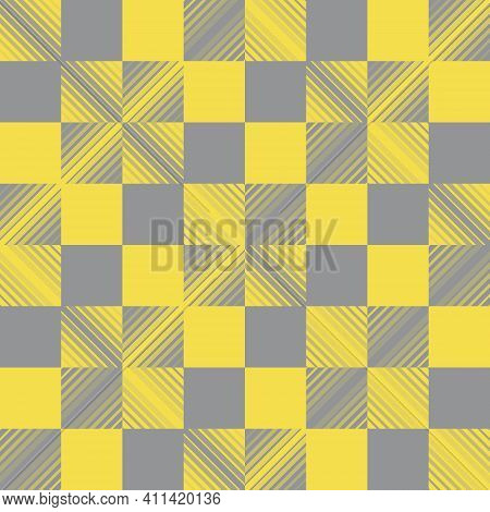 Seamless Abstract Background Checkered Pattern The Oblique Lines Are Crossed Into A Diamond Shape. T