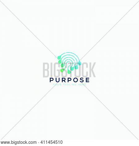 Purpose Mind And Blue Dna Logo Designs