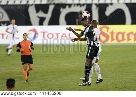 Rio, Brazil - March 07, 2021: Matheus Babi Player In Match Between Botafogo V Resende By Carioca Cha