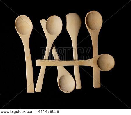 Wooden Spoons Natural Materials And Environmentally Safe Unlike Plastic Spoons Sustainable Materials
