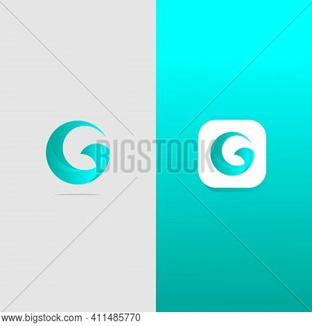 Abstract Letter Logotype G. Suitable For Trademarks, Company Logos, And Others. Vector Illustration