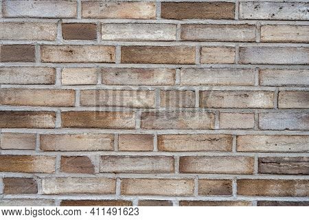 Background From A Fine Brown Brick Wall