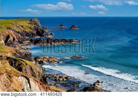 Cornwall Atlantic Coast Rocky Landscape UK