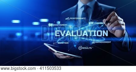 Evaluation Customer Satisfaction Performance Assessment Business Technology Concept.